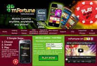 mFortunte Mobile Casino - £5 Free Bonus!