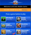 AllSlots mobile baccarat casino