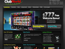 Club World Casinos Slots Tournaments - U.S. Players Welcome!