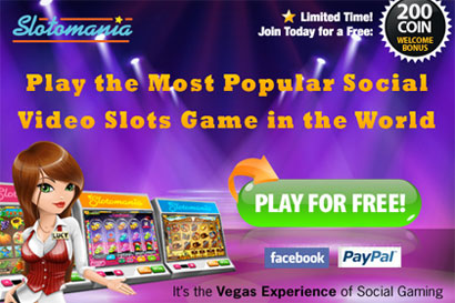 Slotomania Facebook Casino