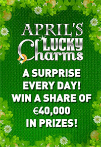 $/£/€ 40,000 in Prizes with 'April's Lucky Charms' Promotion at Royal Vegas Casino