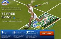 All Slots Casino Promotion - 77 Free Spins!