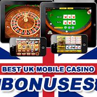 Best UK Mobile Casino Bonuses