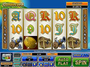 Play Goldbeard mobile slot now!