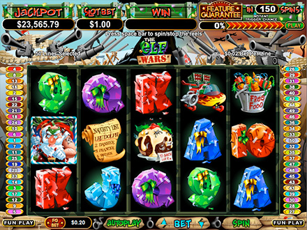 Top 10 christmas themed slots best slot games for christmas