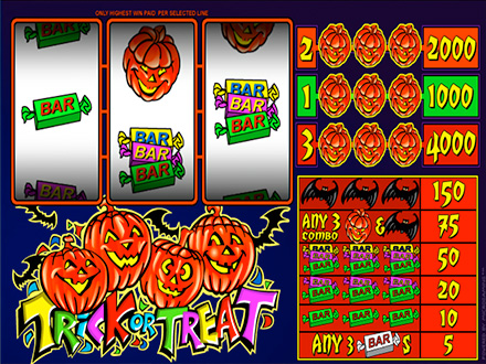 Trick or Treat Slot™ Slot Machine Game to Play Free in WGSs Online Casinos