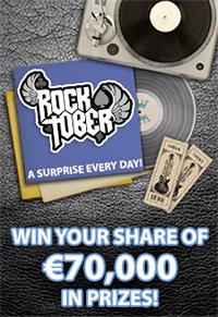 Rocktober - €70 000 in prizes at Royal Vegas Casino