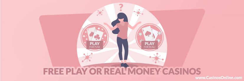 Playing for Free & for Real Money
