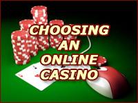 Help in Choosing a Good Online Casino