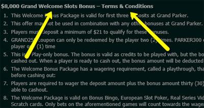 Bonus Wagering Requirements - CanPlay Casino