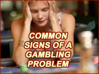 Common Signs of a Gambling Problem