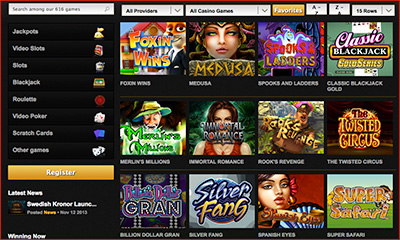 Flash Instant Play Casinos