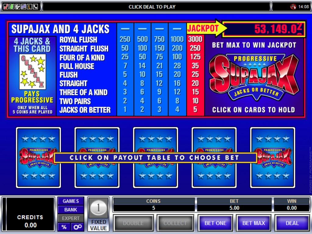 Jackpot poker second chance