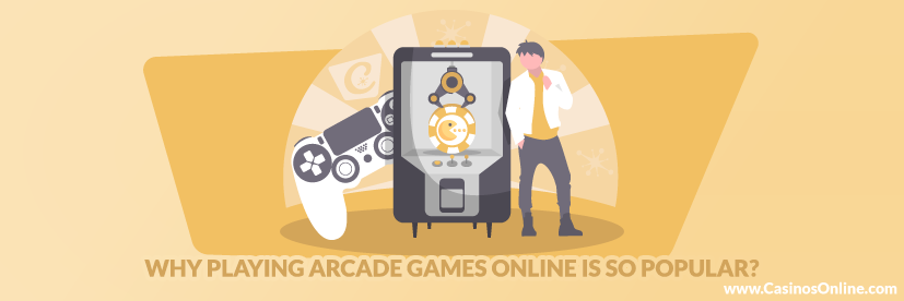 Why Playing Arcade Games Online is so popular