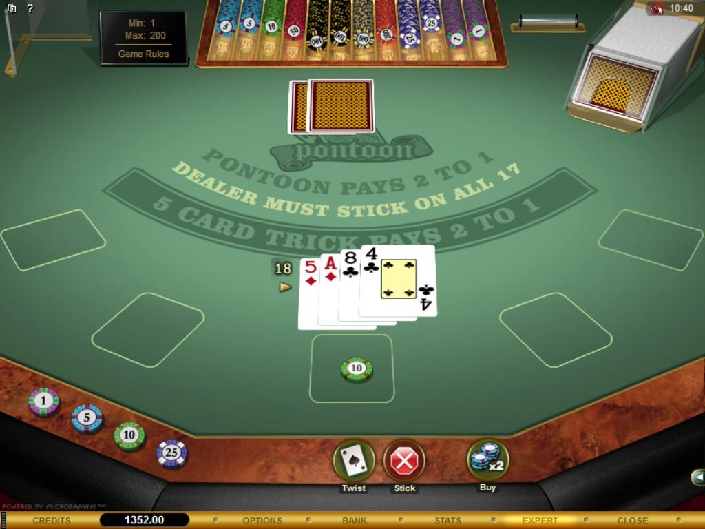 Play Pontoon Blackjack Online at Casino.com NZ