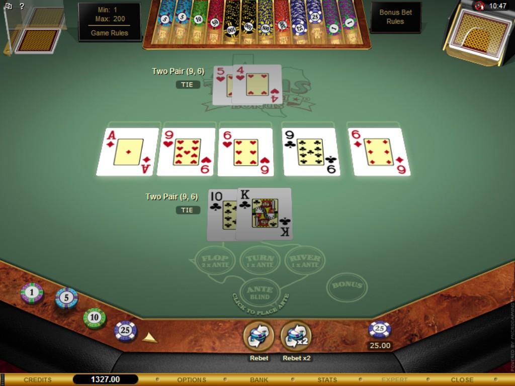 test online casino