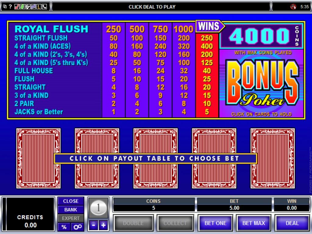 Casino online play poker