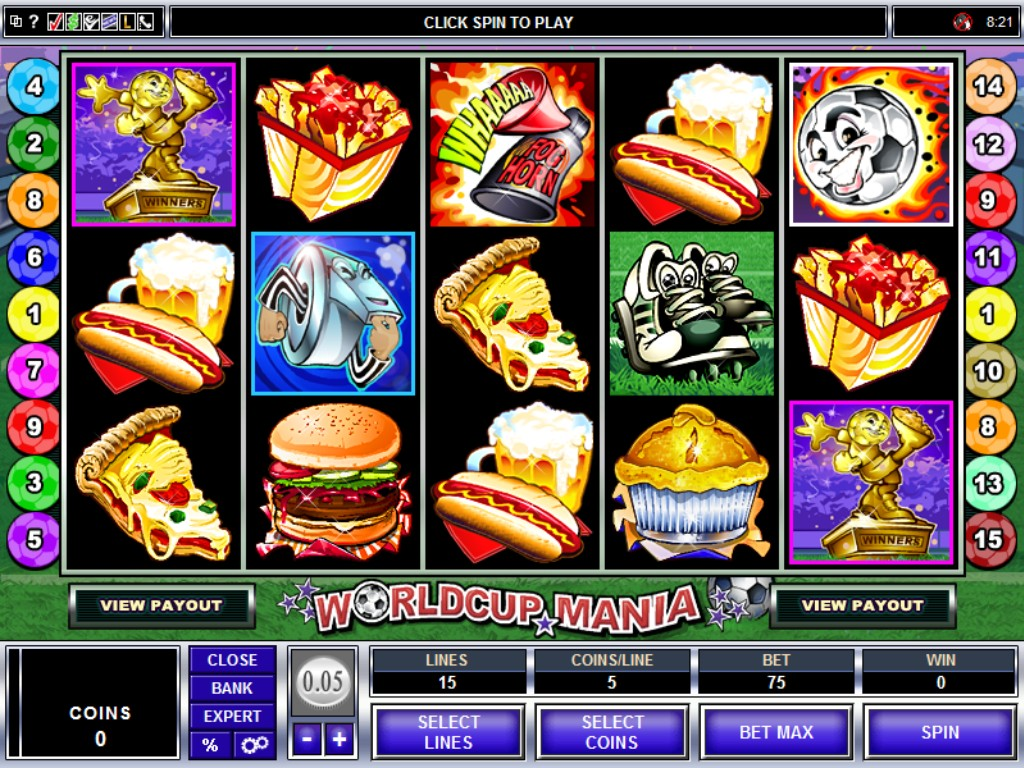 World Cup Mania™ Slot Machine Game to Play Free in Microgamings Online Casinos