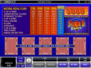 joker-poker-video-poker