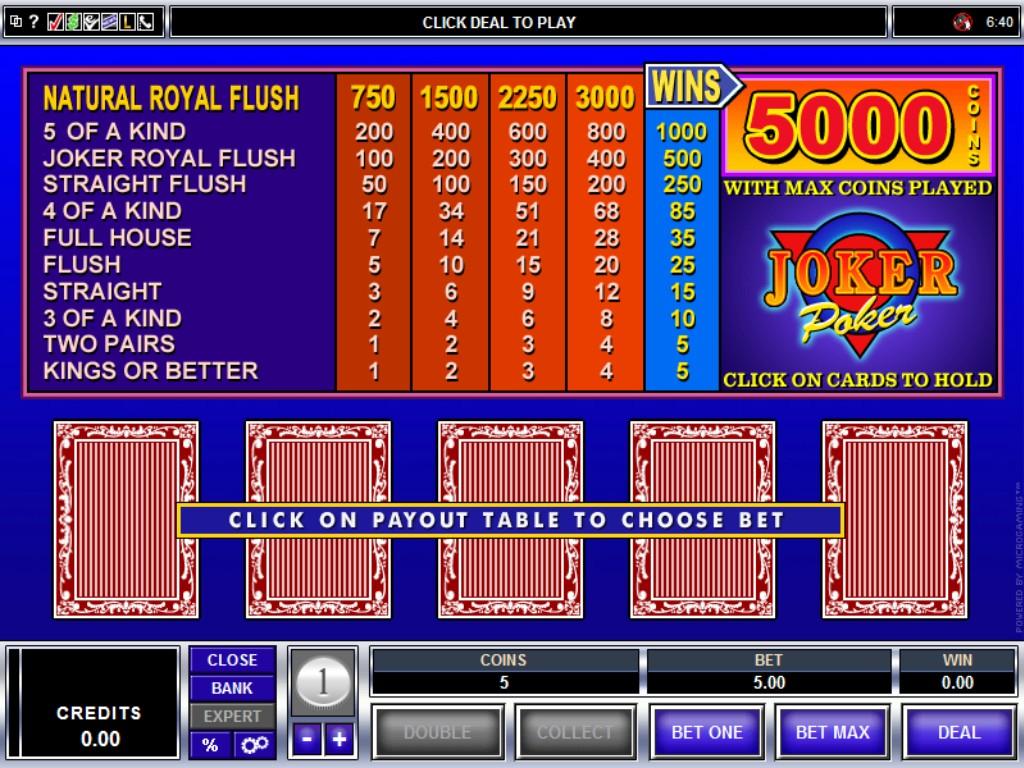 no deposit sign up bonus online casino poker joker
