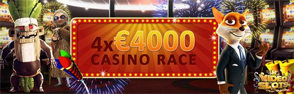 VideoSlots.com Casino Race