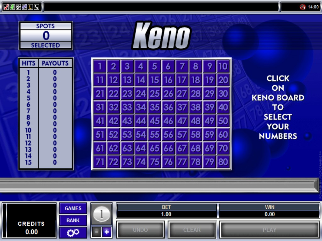 Keno Casino Games