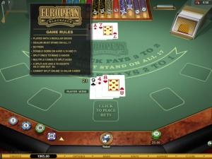european-blackjack-gold-rules