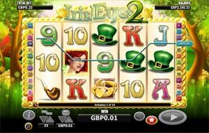 Irish Eyes 2 Slot Game