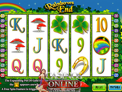 Rainbow's End Slot Game