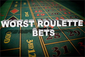The general rule when you are new to roulette is to avoid the bets with highest payouts, as your chances of losing increase.