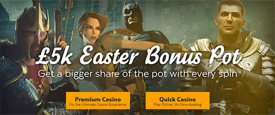 32Red Casino Easter Promo