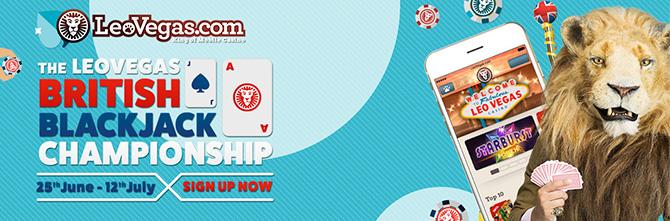 Join The British Blackjack Championship 2015!