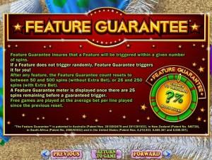 RTG Bonus Feature Guarantee Explained