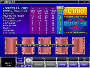 deuces-and-joker-video-poker