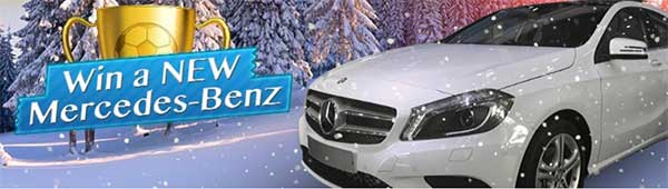 Win a Mercedez this Christmas!