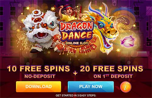 Dragon Dance Slot - 30 Free Spins!