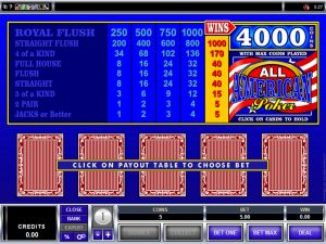 all-american-video-poker