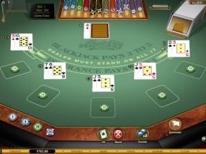 Most Played Multi Hand Blackjack Games
