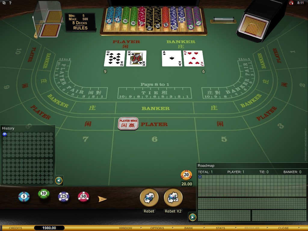 Rules Of Baccarat Cards Game