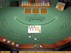 Which Betting Option is Best on a 3 Card Poker Game?