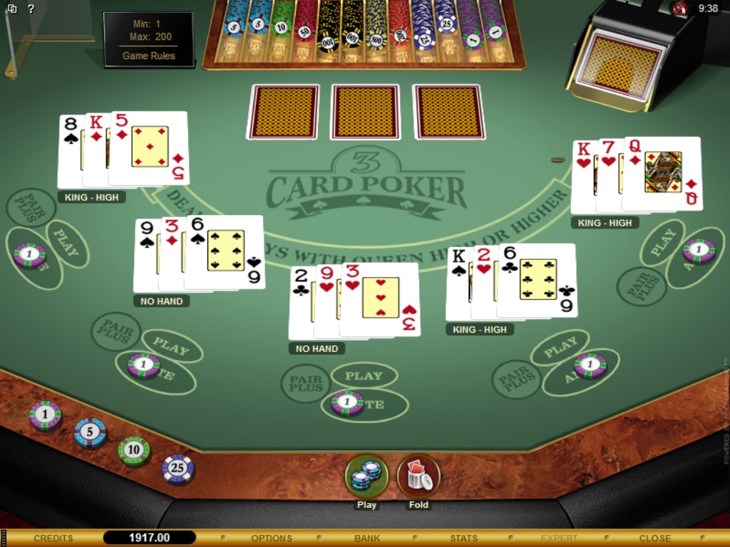 casino poker strategy