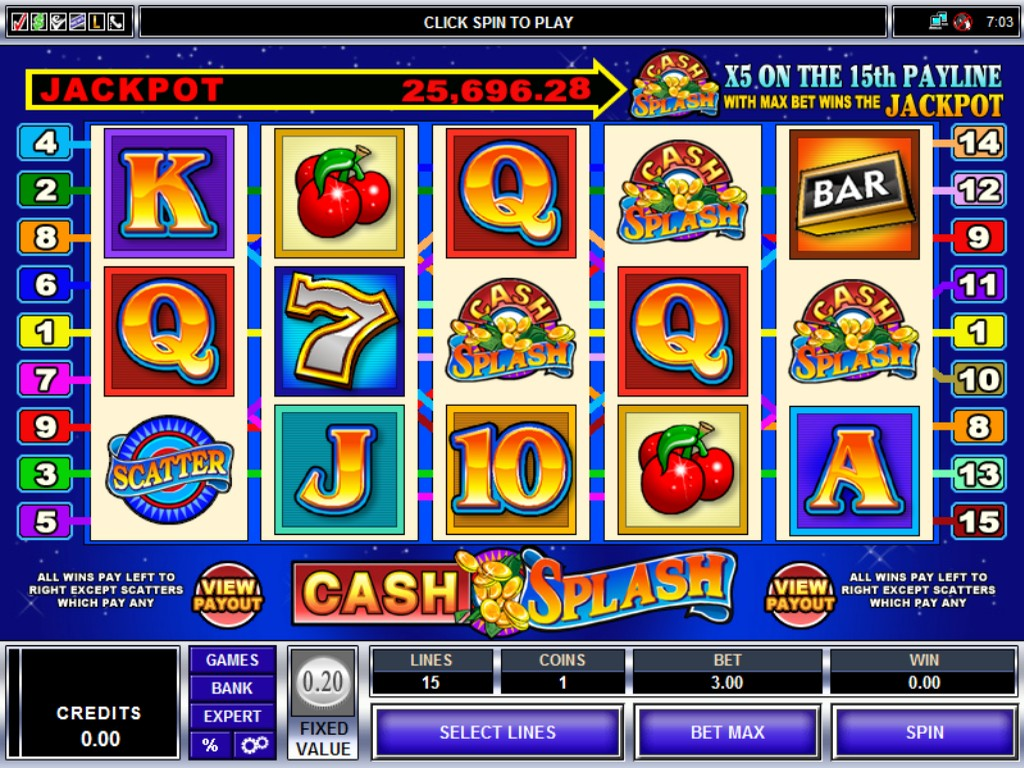 Cash Splash Slot Machine - Find Out Where to Play Online