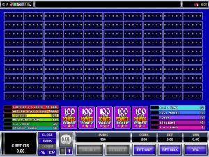 What Video Poker Game Variants are Suitable for High Rollers?