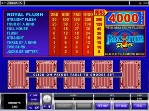 Best Strategy for Playing Single Hand Video Poker Games