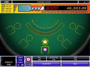 How Do Progressive Blackjack Game Award their Jackpots?