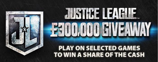 bgo casino justice league promotion