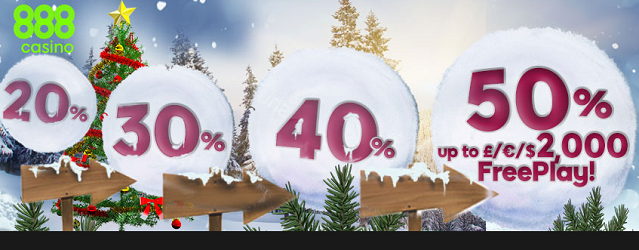 888 Casino Snowball promotion