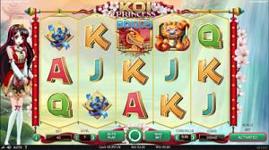 Big win on Koi Princess slot