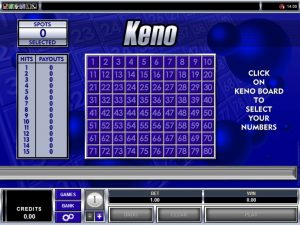 How Is the Game of Keno Structured?