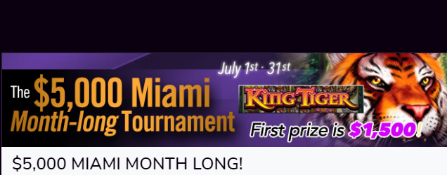 Miami Club July promotion
